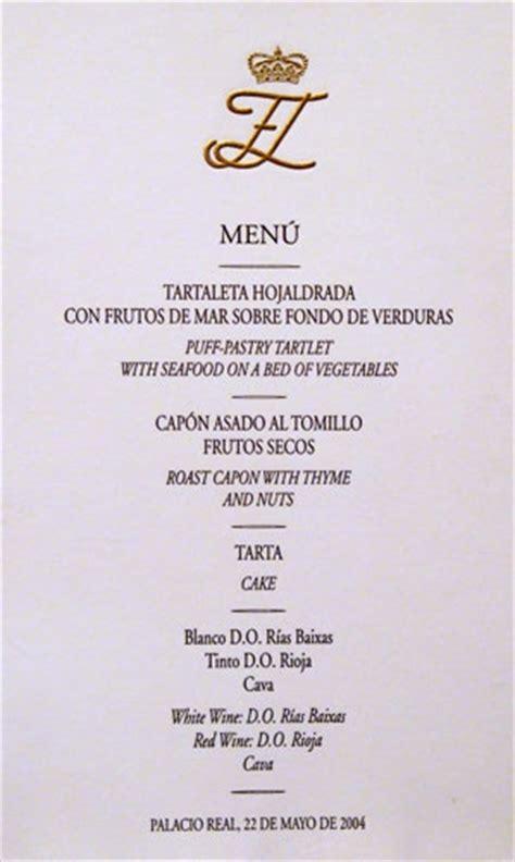 menu de banquetes para boda la boda real que cambi 243 la historia de cascajares el