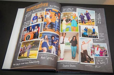 yearbook superlatives layout senior superlatives pinteres