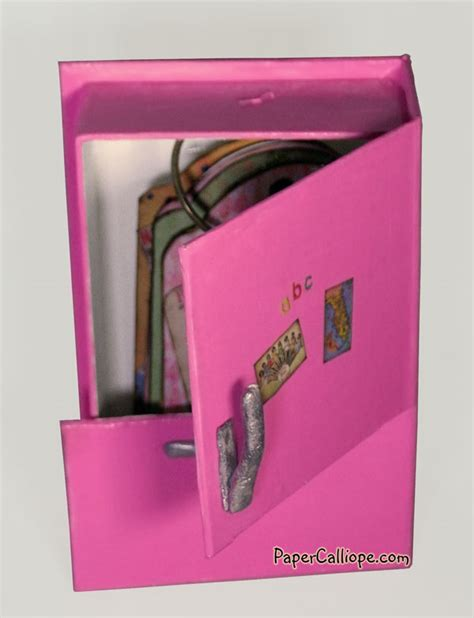 How To Make A Paper Refrigerator - retro refrigerator recipe holder by paper calliope paper