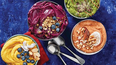 Backyard Bowls Nutrition Information 5 Superfood Smoothie Bowls Bonus Bowls From Backyard