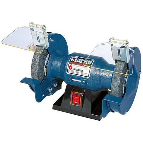 clarke bench grinder clarke cbg6rp 6 quot bench grinder machine mart machine mart