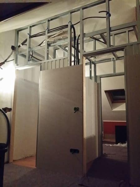 cabina armadio in cartongesso foto divisione mansarda in 2 camere 1 cabina armadio e