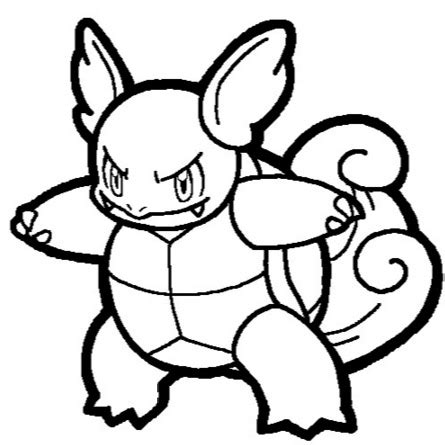 pokemon coloring pages wartortle wartortle coloring page coloring book