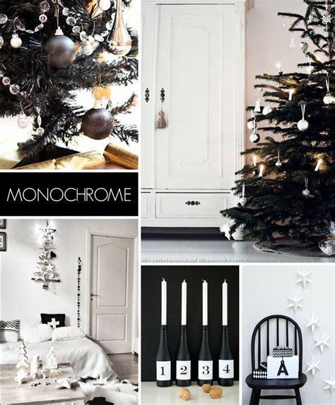 monochrome home decor top 5 christmas decorating trends for 2013 monochrome