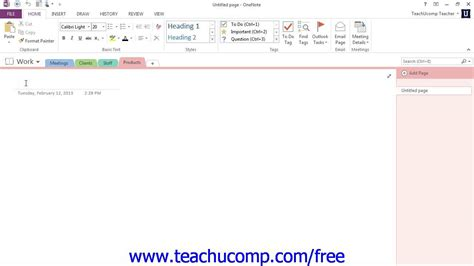 onenote tutorial youtube onenote 2013 tutorial creating moving and deleting