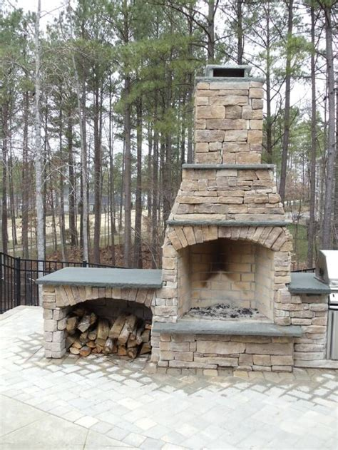 23 best images about outdoor fireplaces on