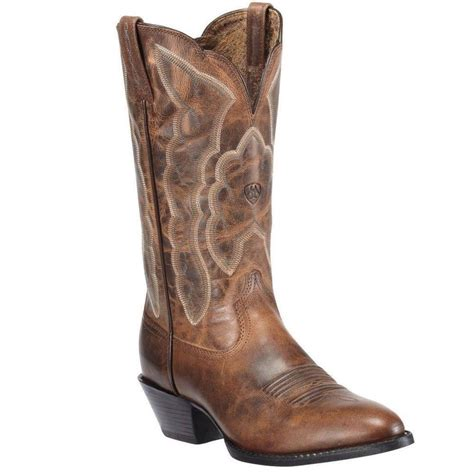 western womens boots ariat womens heritage western r toe boot sassy brown
