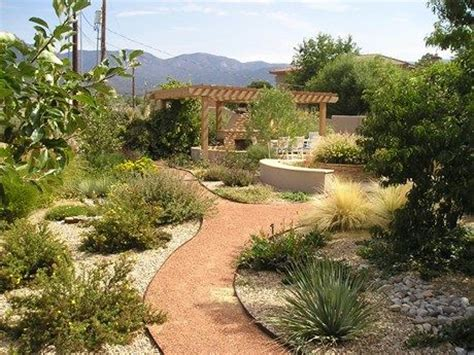 Xeric Landscape Ideas Go Xeric Albuquerque Backyard Lawnless Landscaping