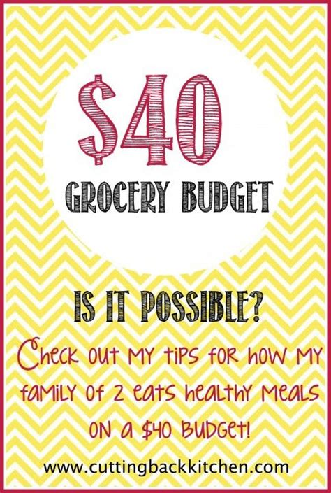 grocery budget  tips  saving money