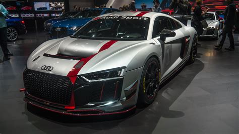 audi sports car audi sport s new gt4 race car was star of its ny