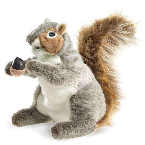 gray squirrel folkmanis