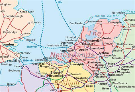 netherlands rail network map 阿姆斯特丹 欧洲 夜火车 火车站