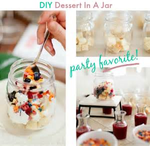 diy dessert in a jar bar easy and inexpensive party idea