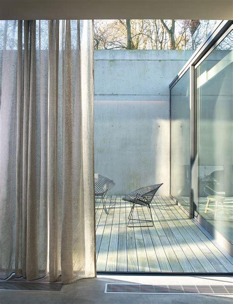 gardinen baumwolle transparent moderne gardinen und vorh 228 nge aus leinenstoffen 30 ideen