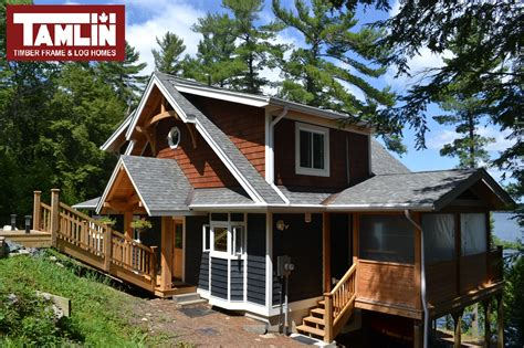 Home Clear by The Clear Lake 1744 Sq Ft Quot Hybrid Quot Timber Frame Post