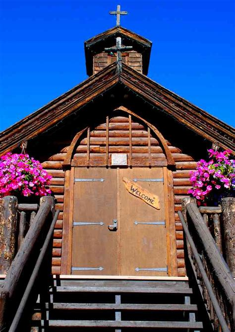 log cabin church  colorado mountains brian humek photography