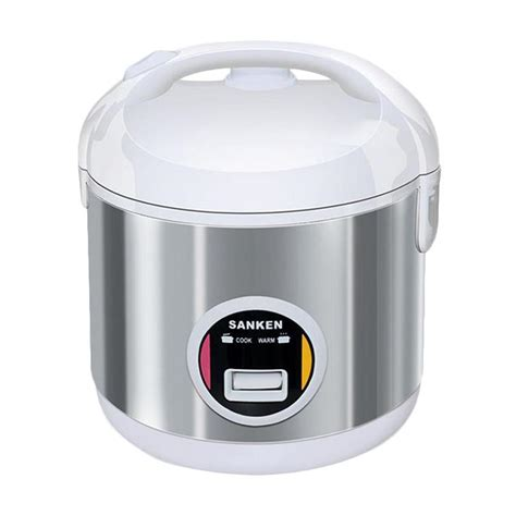 Rice Cooker Sanken Stainless Steel jual hiceh sanken sj 203wh rice cooker stainless steel