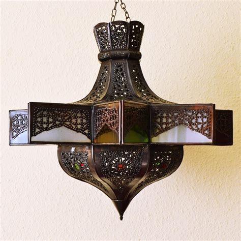 acquista lampadario  forma  stella ottagonale  ferro