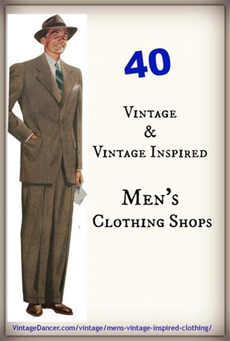1940s men s reproduction clothing vintagedancer