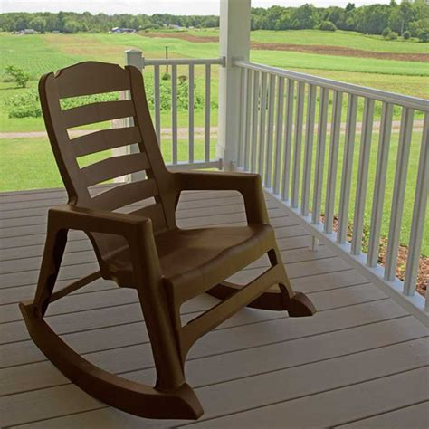 Resin Rocking Chair by Resin Patio Furniture Resin Big Easy Rocking Chair