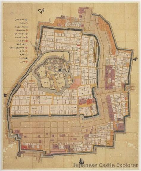 japanese castle floor plan japanese castle explorer
