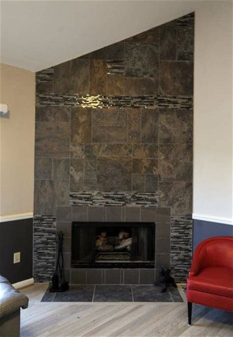 Fireplace Wall Tile Ideas by 33 Best Images About Fireplace Design On