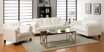 white living room furniture sets pierre white living room set from furniture of america