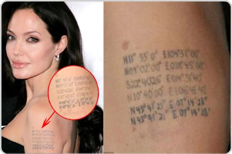 angelina jolie geographical tattoo miss fairlie humanities and esl