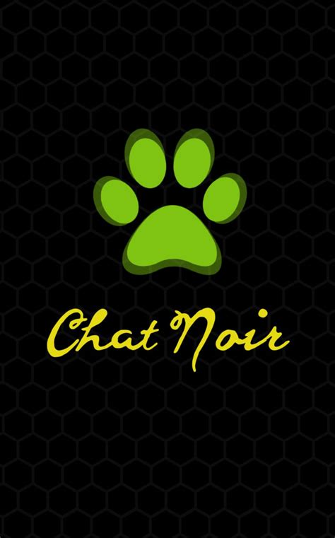 wallpaper chat noir chat noir ml mobile phone wallpaper by cheezepop38 on