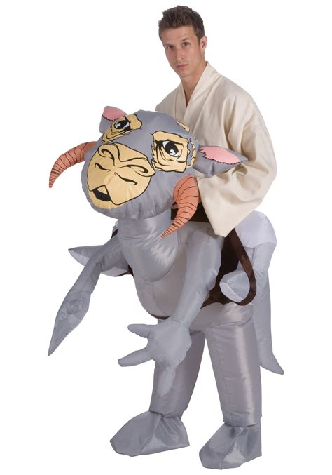 adult bounce house adult inflatable tauntaun costume