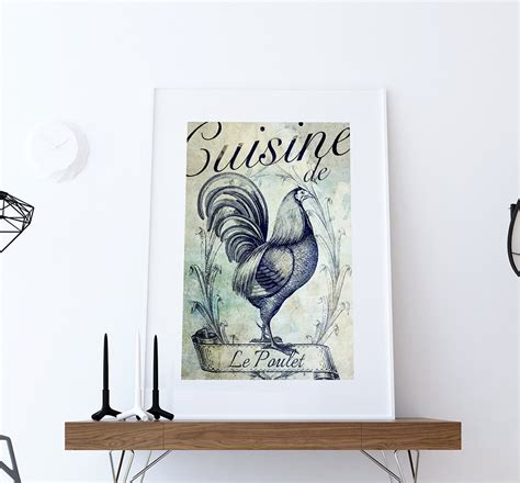 horse prints in home d 233 cor trendsurvivor rooster decor for kitchen french kitchen decor rooster art