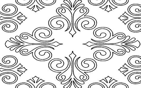 desain gambar batik yang mudah gambar batik tradisional sederhana simpel informasi buat
