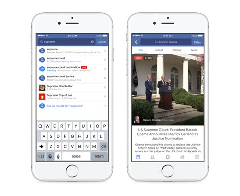 fb video facebook live nouvelles favorites de l interface facebook
