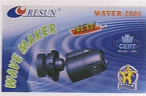 Pompa Aquarium 3 Watt resun pompa di movimento wave maker waver 2000 consumo