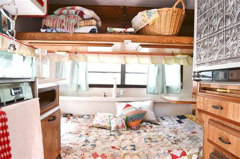 travel trailer decorating ideas decorating your vintage travel trailer autos post