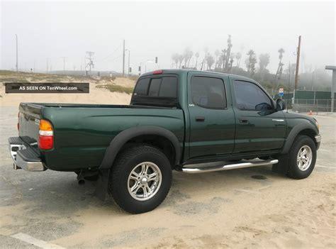 toyota pre 2001 toyota tacoma pre runner crew cab pickup 4 door 3 4l