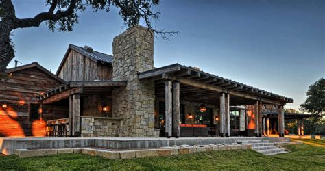 ranch farmhouse modern rustic barn style retreat in texas hill country