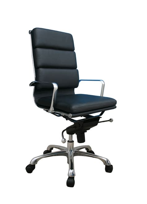 Office Chairs In Store Plush High Back Chair J M Furniture In Office Seating