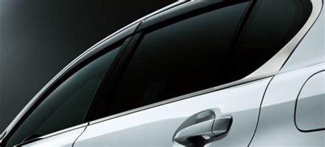Visor Set Ct trading services inc new products information genuine lexus japan smoke side window