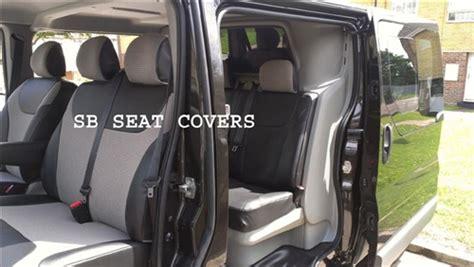 vauxhall vivaro 9 seater mini seat covers