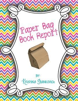 paper bag book reports paper bag book report bags paper and book reports
