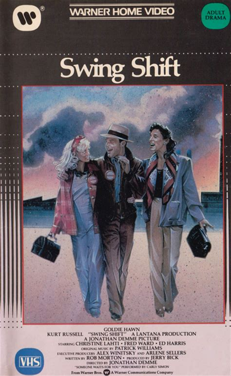 swing shift movie swing shift 1984 171 vhs rewind