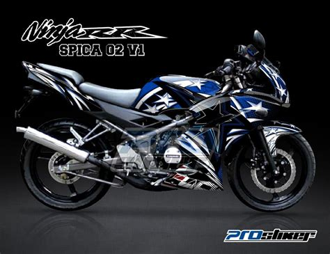 Decal 150 Rr New Sunmoon 04 Hitam Sticker Striping modifikasi 2 tak modifikasi