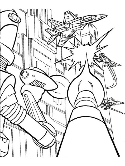 Transformers Coloring Pages For Kids Coloringpagesabc Com