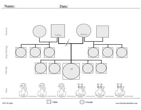 free genogram template genogram worksheet fioradesignstudio