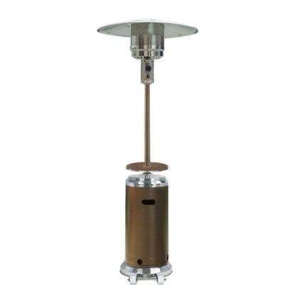 az patio heaters 41 000 btu stainless steel hammered