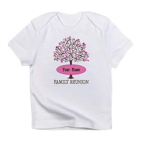 Personalized Family Tree Reunion Infant T Shirt By Mainstreetfamilytshirts Family Reunion Templates For T Shirts