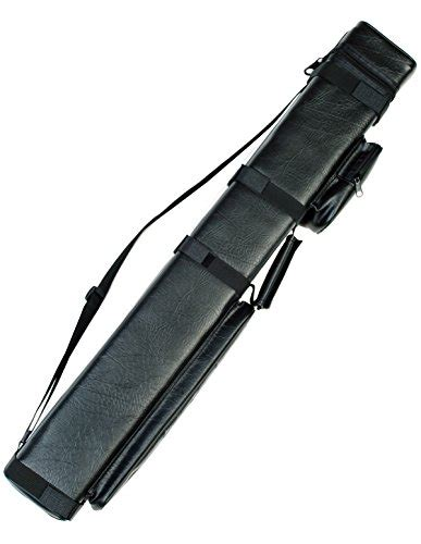 Stick Billiard Import Sambung 3 3x6 pool cue billiard stick carrying black
