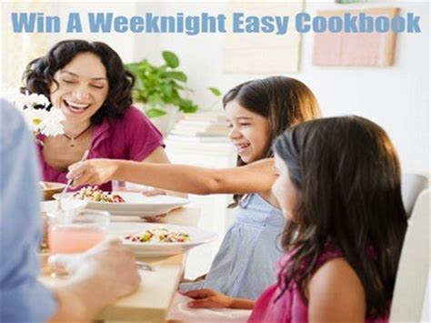Sweepstakes That Are Easy To Win - www goodhousekeeping com sweepstakes enter good housekeeping family dinner