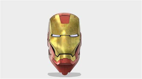 Ironman Mask Ks Irn 11 Iron Helmet Autodesk Gallery